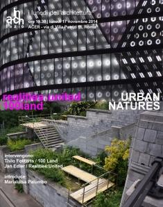 URBAN NATURES_poster_def